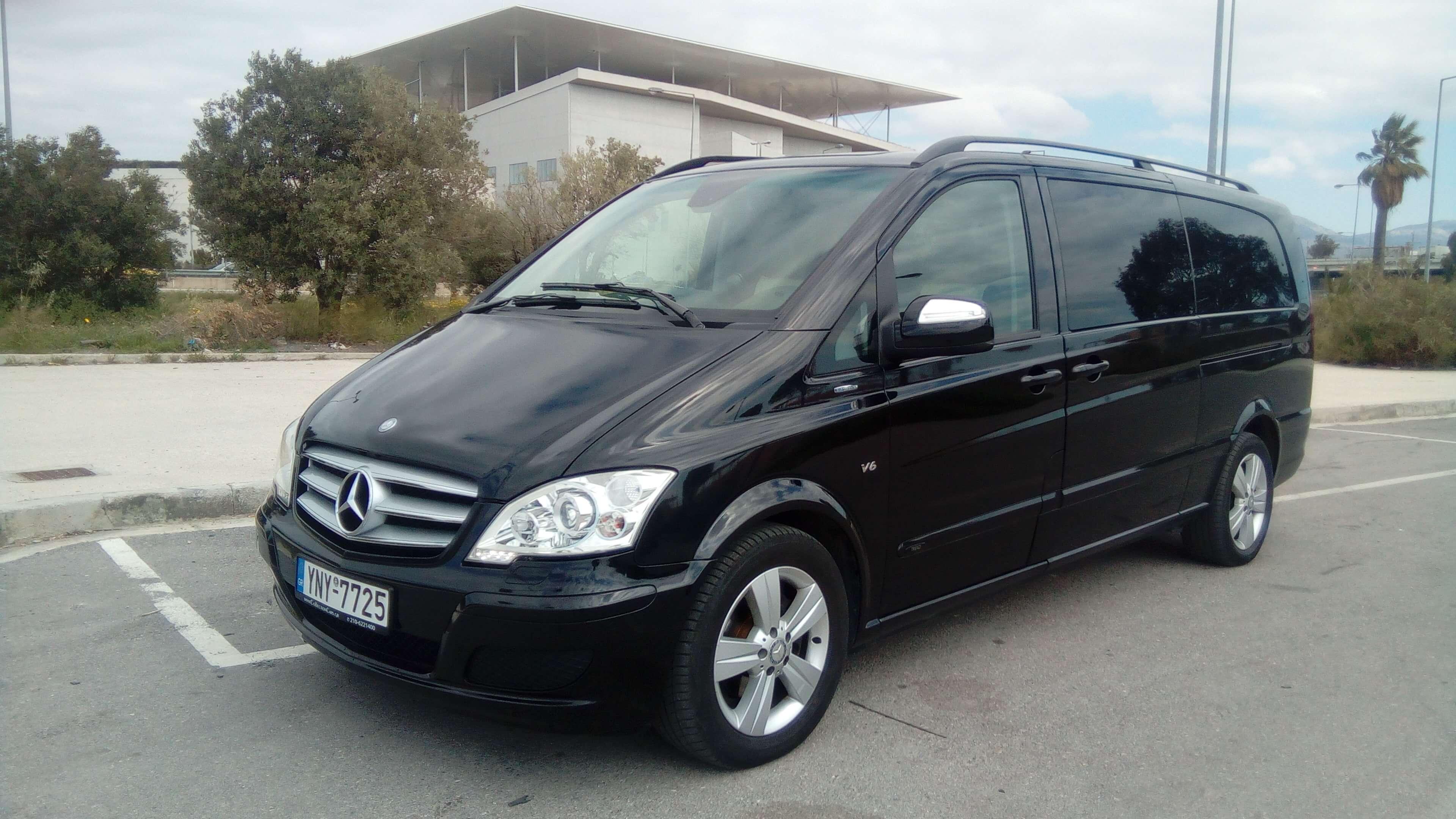 Luxury Minivan - Chauffeur Greece